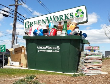 Green Works Monument Sign